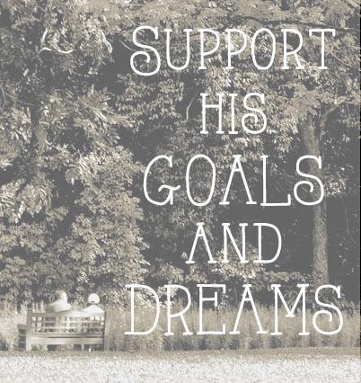 goals are where horizons meet reality