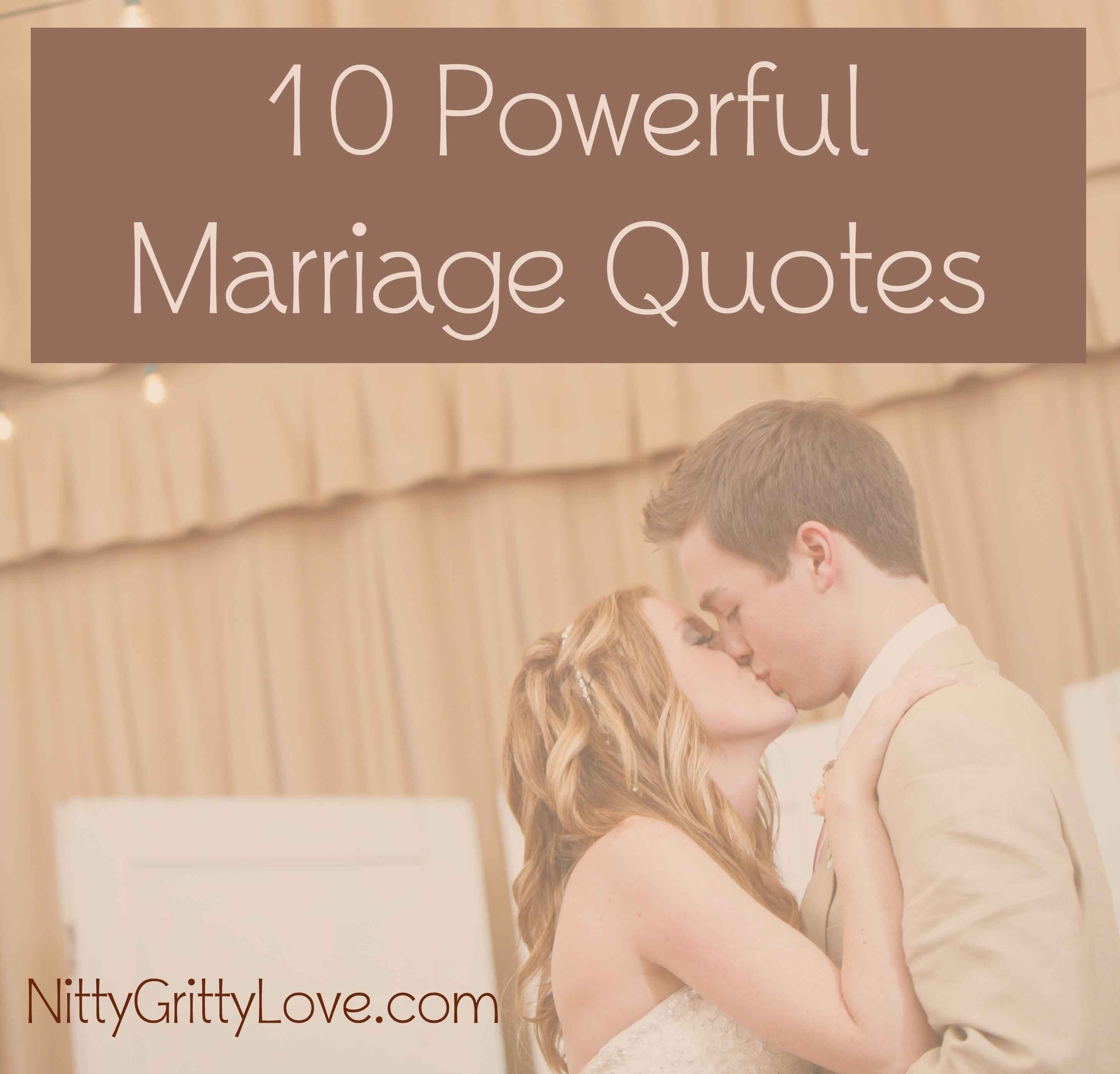 Small Wedding Quotes: 10 Powerful Marriage Quotes