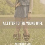 A Letter to the Young Wife
